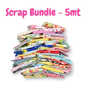 Fabric Scrap Bag - 5 METRE BUNDLE